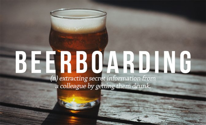 Are you on board for a beer with me?